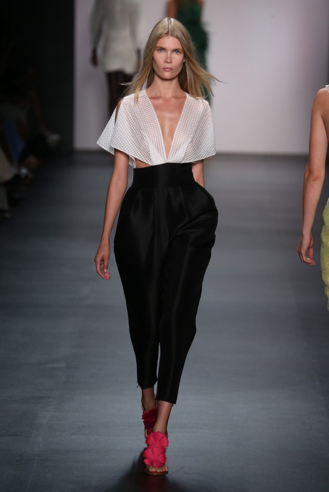 Inka C for Angel Sanchez NYFW SS16