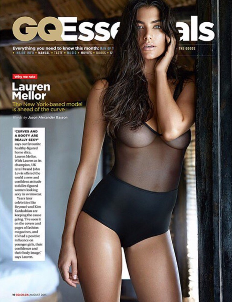 Lauren for GQ South Africa