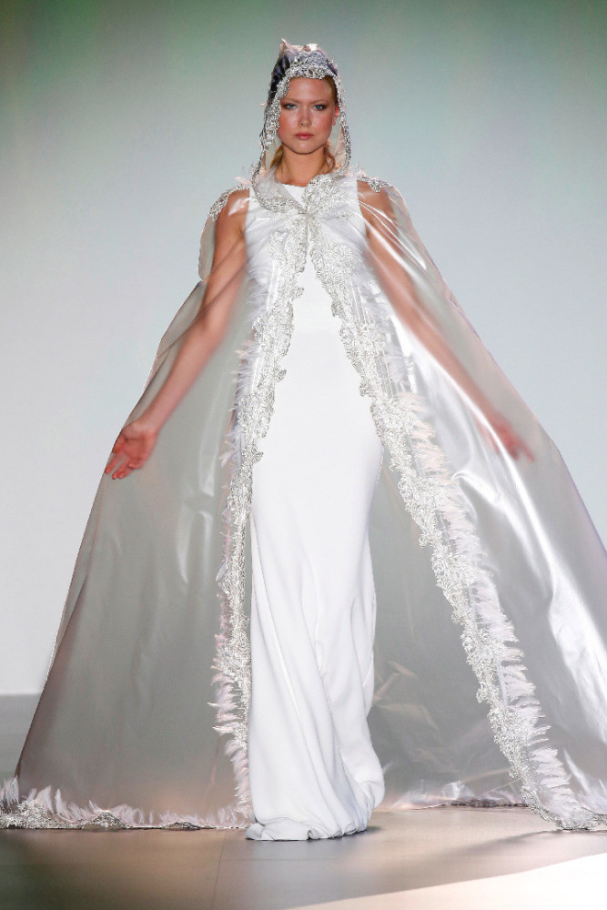 Cecilie J @Barcelona Bridal Week 2015