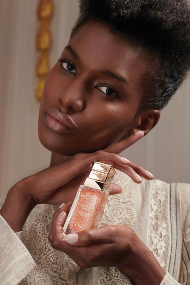 Tiah for Dior Skincare