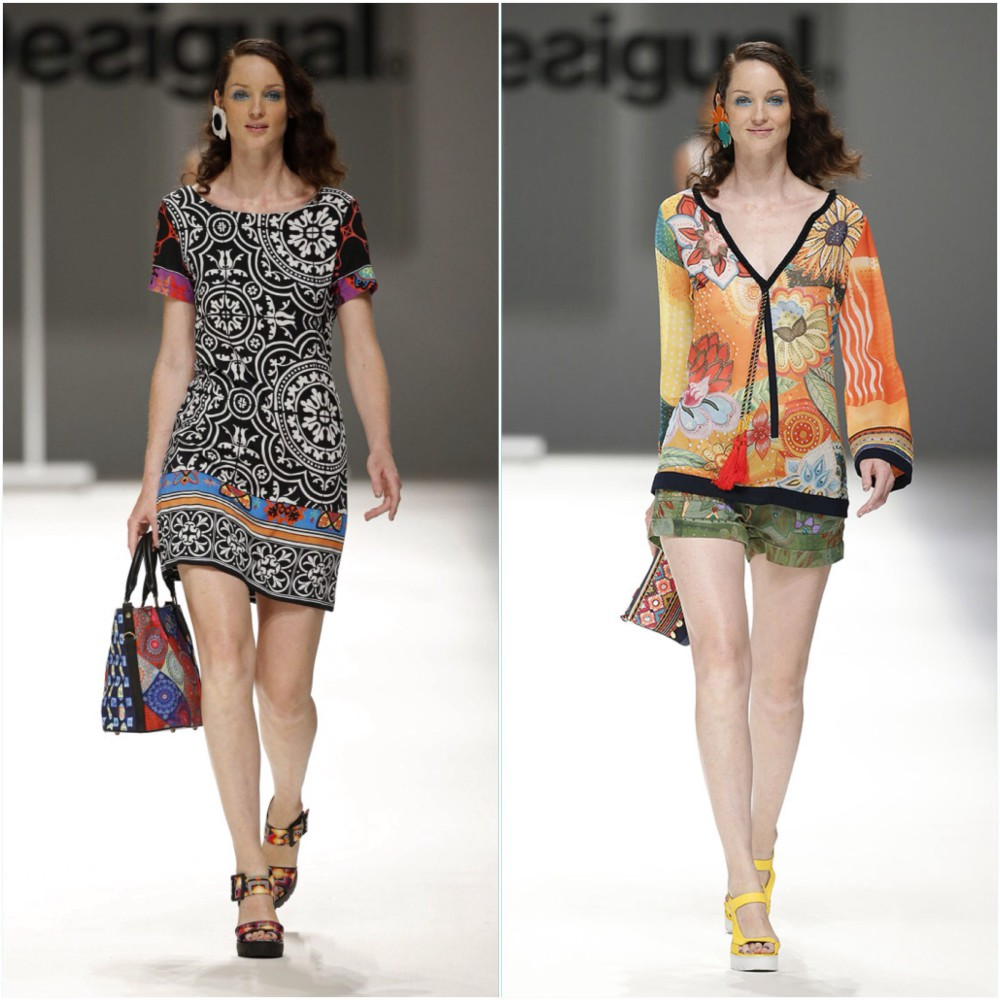 Carla C for Desigual SS16 Barcelona