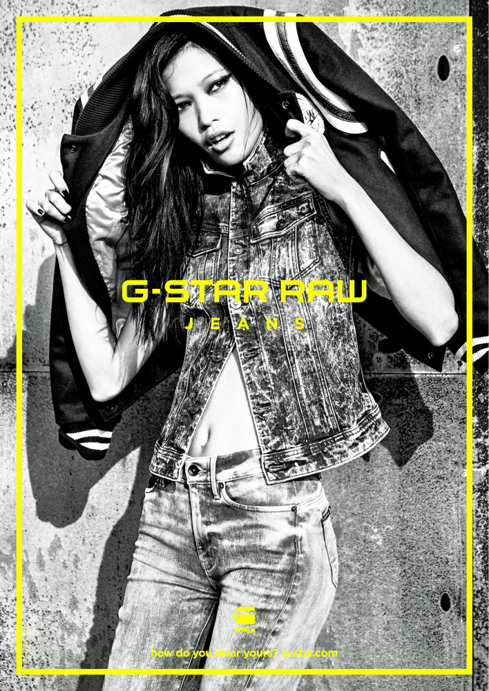 Karmay for G-Star Raw campaign 2015