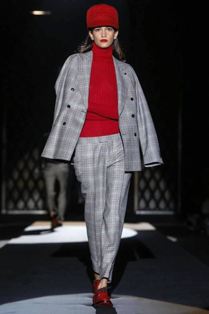 Hadassa Lima Daks London MFW MensWear Fall15