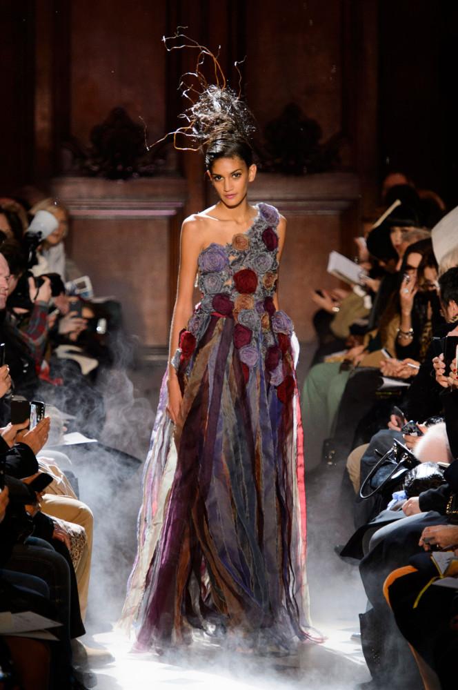 Franck Sorbier Spring 2015 Couture