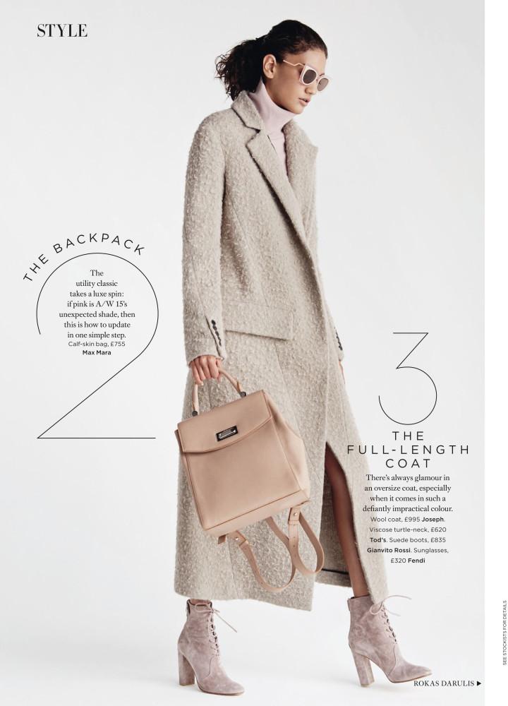 Hadassa Lima for Harper's Bazaar UK September 2015 issue