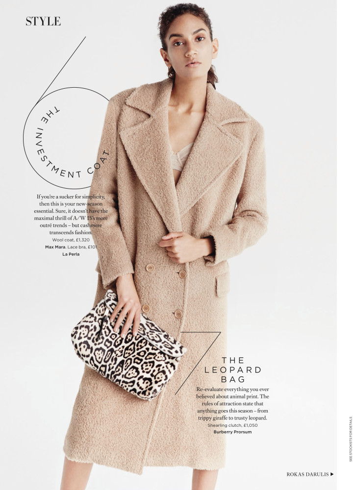Hadassa Lima for Harper's Bazaar UK September 2015 issue