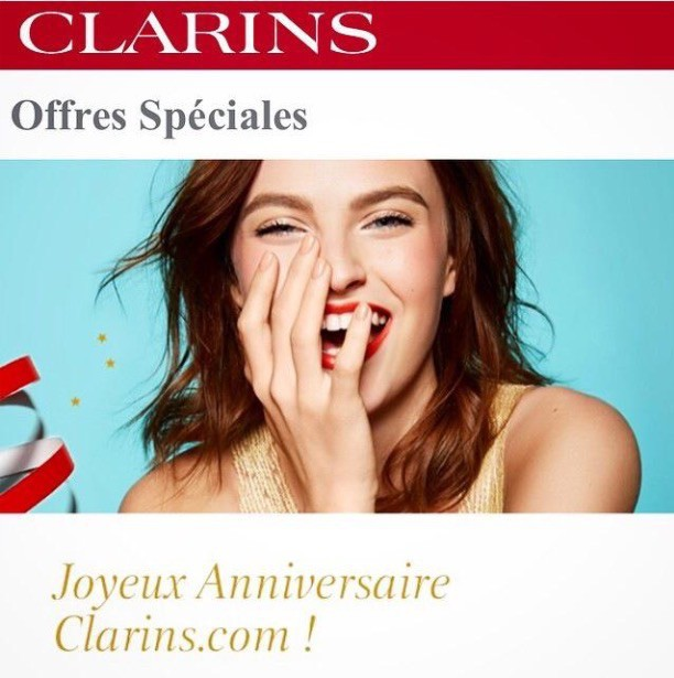 Yuliana K for Clarins