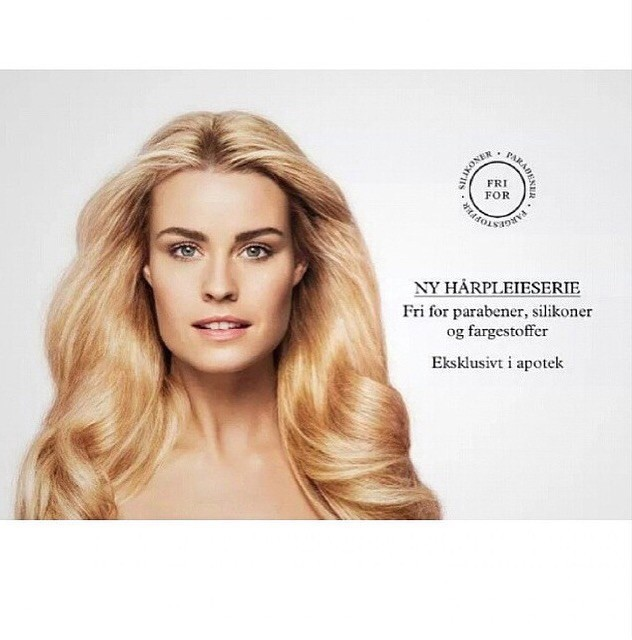 Sanny B for Pure Therapy campaign Norway