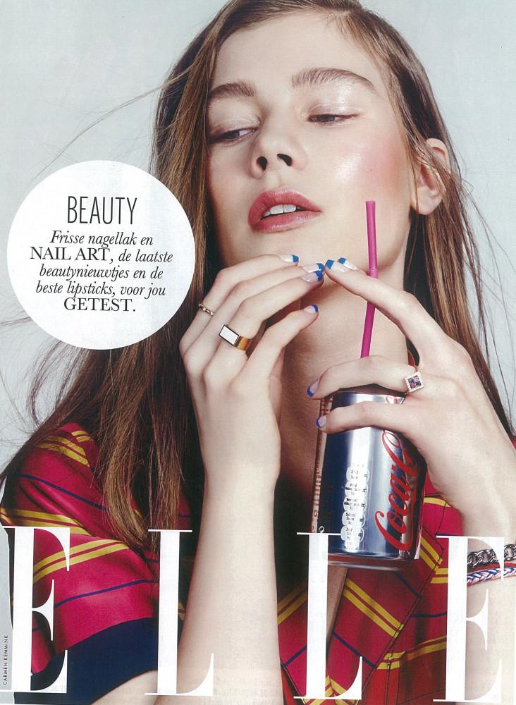 Lotte T for Elle Netherlands April 2015 Issue