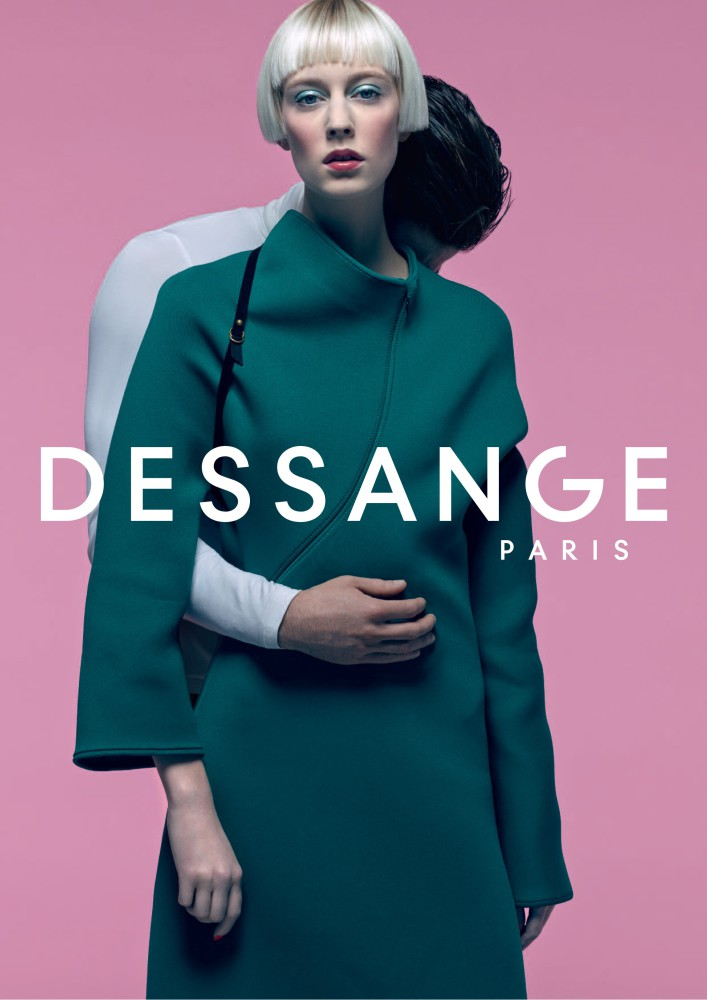 Matilde R for Dessange Paris campaign