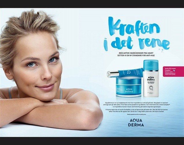 Karin D for Aqua Derm