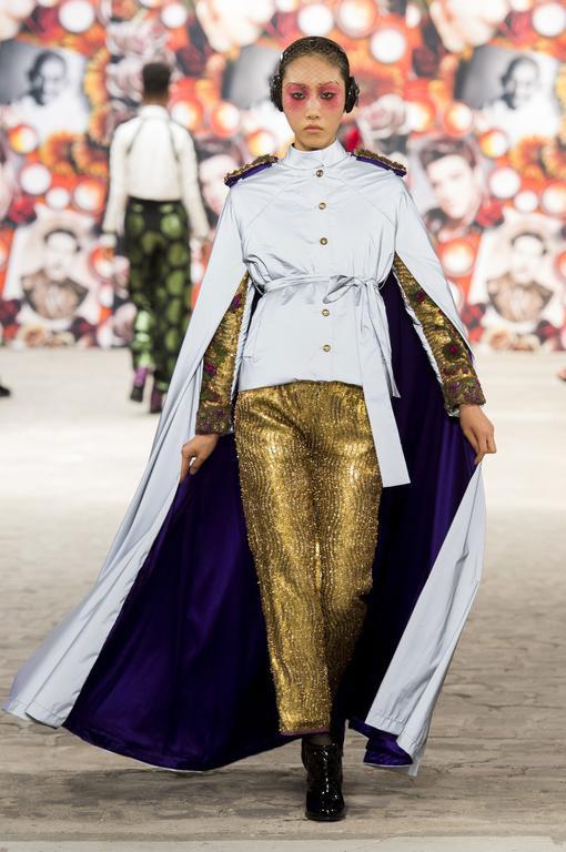 Lim Lee for Antonio Ortega #CoutureFall2016