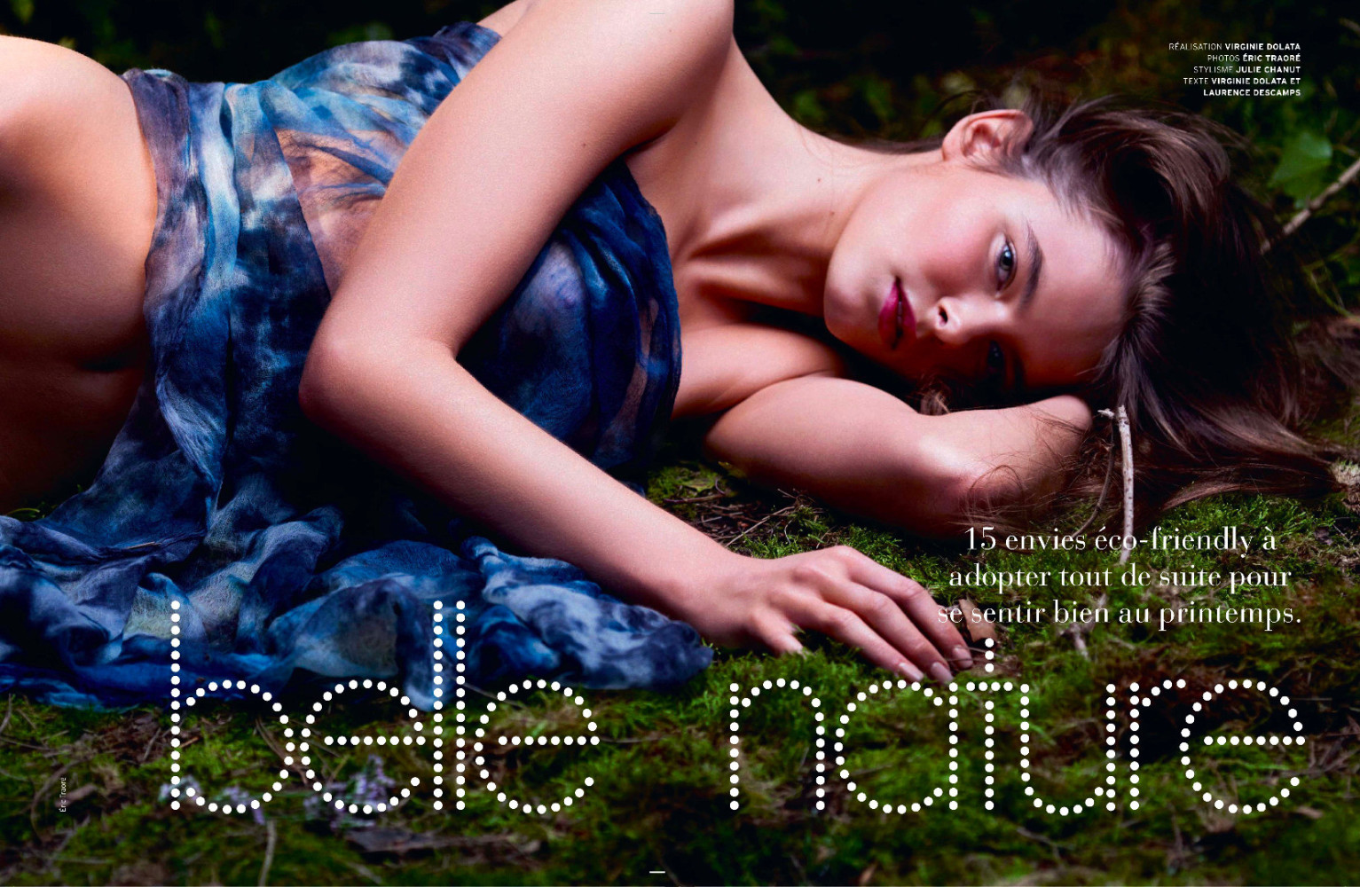 Pebbles for ELLE Belgium April 2015 Issue