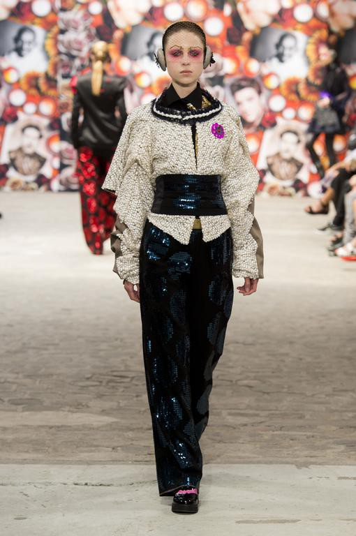 Lena Zhukova for Antonio Ortega #CoutureFall2016