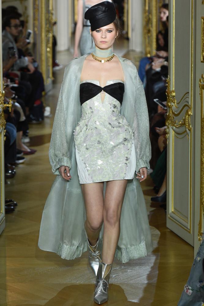 Lia Seregina for Ulyana Sergeenko Haute Couture Spring 2016 Show