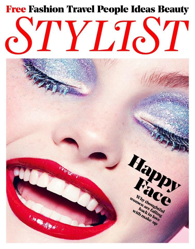Georgie H on the cover of Stylist magazine