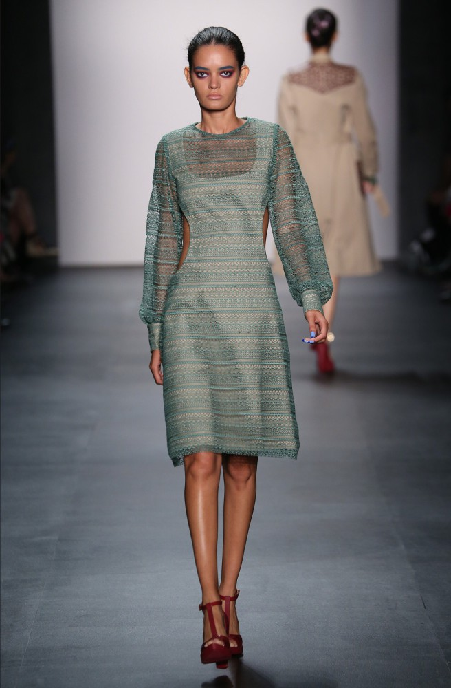 Wanessa Milhomem for Georgine NYFW SS16