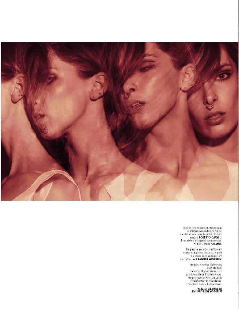 Kristina S for Vogue Portugal #June 2015