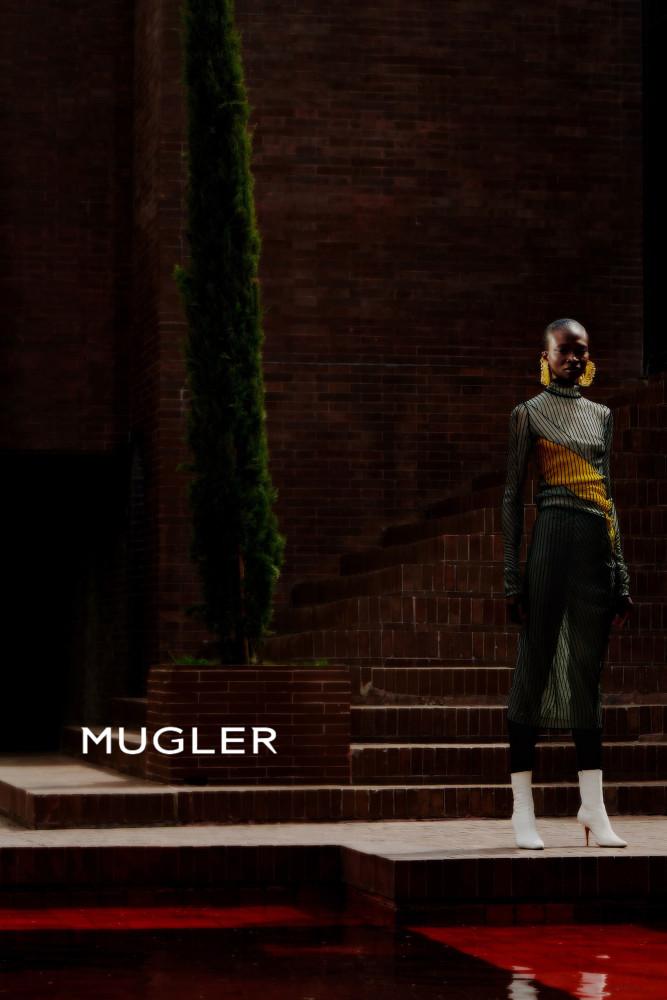 DEBRA SHAW FOR MUGLER SS18 CAMPAIGN