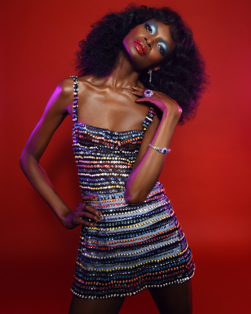 DEBRA SHAW FOR SORBET MAG X DIOR JEWELRY