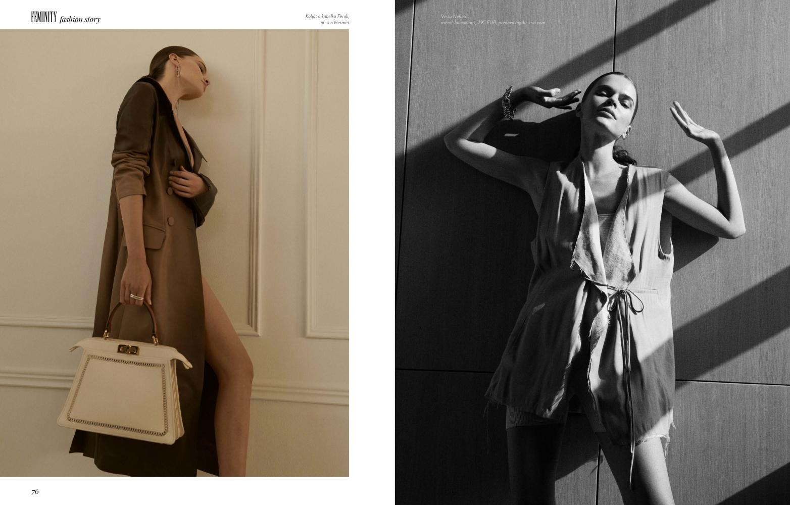 Viktoria Ortner for Feminity Mag