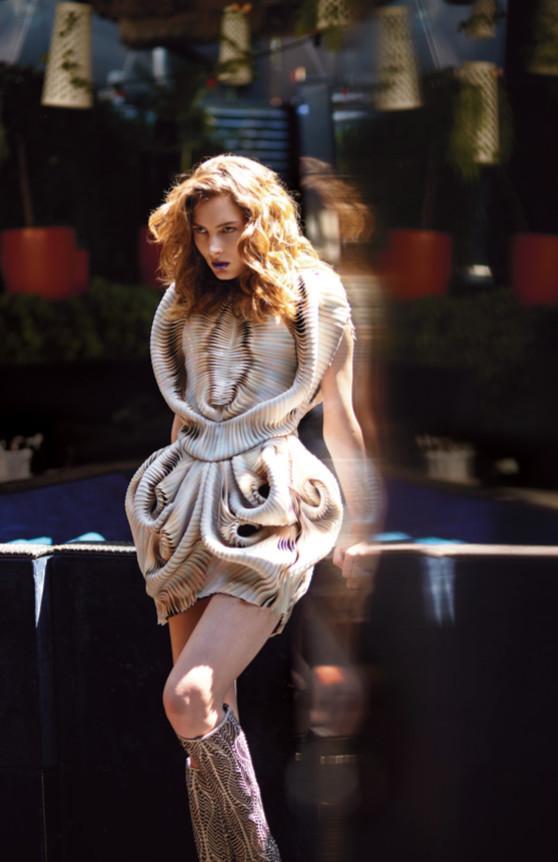 Viky Kaya for Flaunt Magazine
