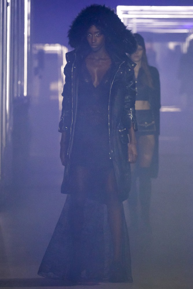 Viviane for Philipp Plein FW2016 MFW