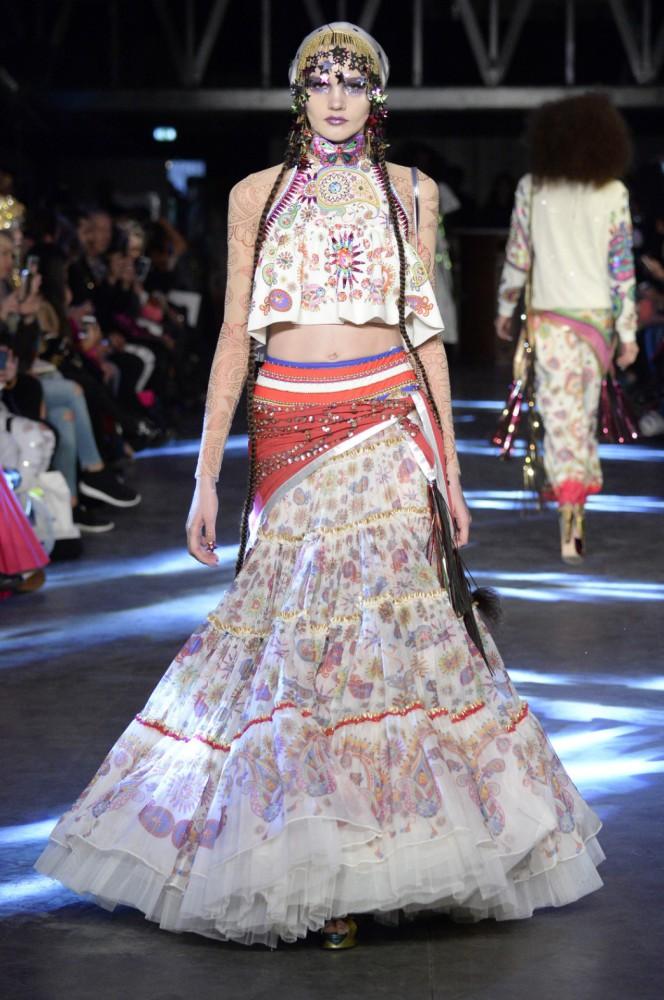 Daria B for Manish Arora PFW SS16