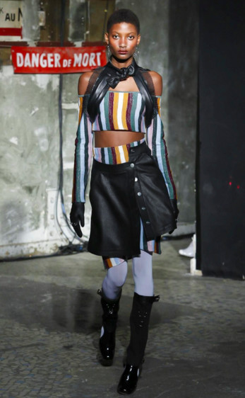Mame Camara for Neith Nyer FW2016 MFW