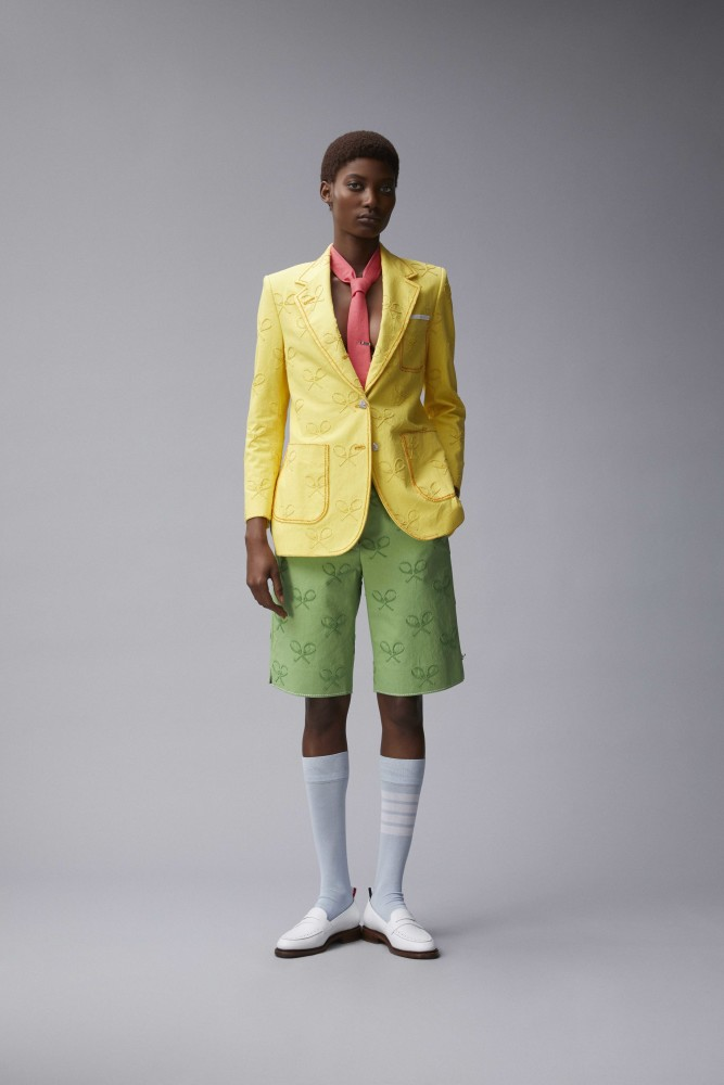 MAME CAMARA FOR THOM BROWNE RESORT 2018 LOOKBOOK