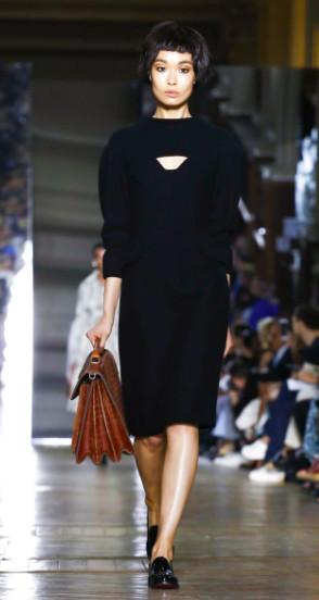Bibi Sharipova for Ulyana Sergeenko Couture Fall 2016