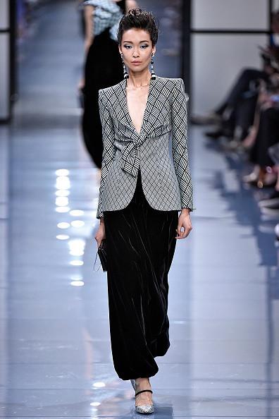 Bibi Sharipova for Armani Privé #CoutureFall2016