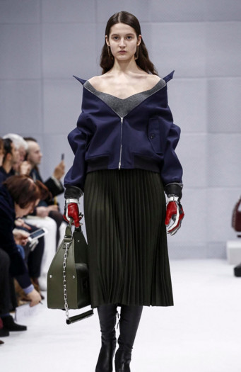 Lera for Balenciaga FW2016 PFW