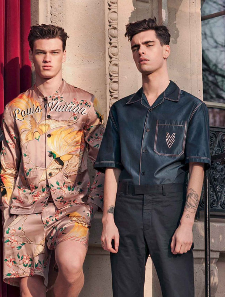 Jonathan & Filip, coverstar of L'Officiel Brazil
