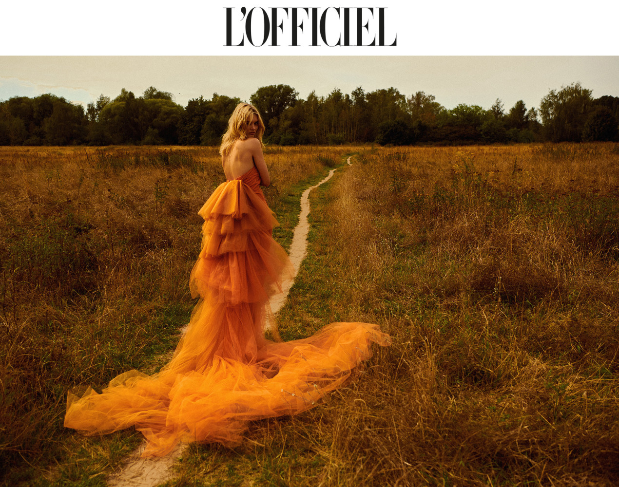 Lara Bender for L'OFFICIEL Austria