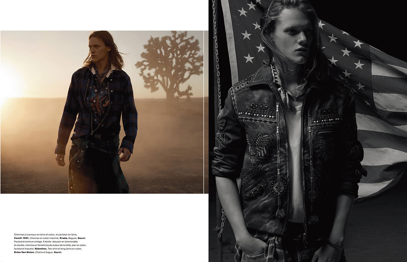 Ryan Keating for Numero Homme