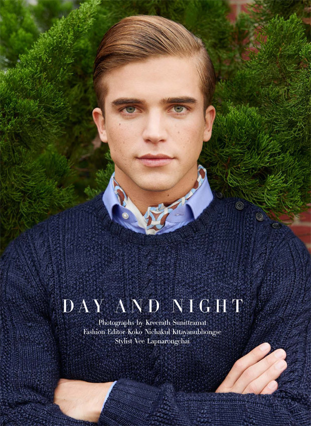 River Viiperi for Harper Bazaar's Men Thailand's Spring Summer 2016