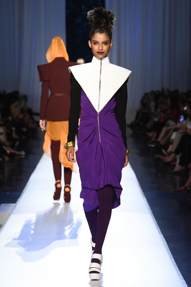 CINDY BRUNA, MARGO & SERENA FOR JEAN-PAUL GAULTIER FALL17 COUTURE