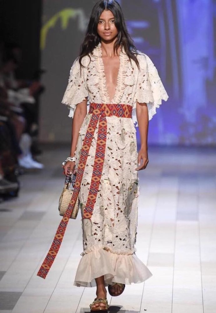 SERENA MARQUES FOR VIVIENNE TAM SS18 SHOW