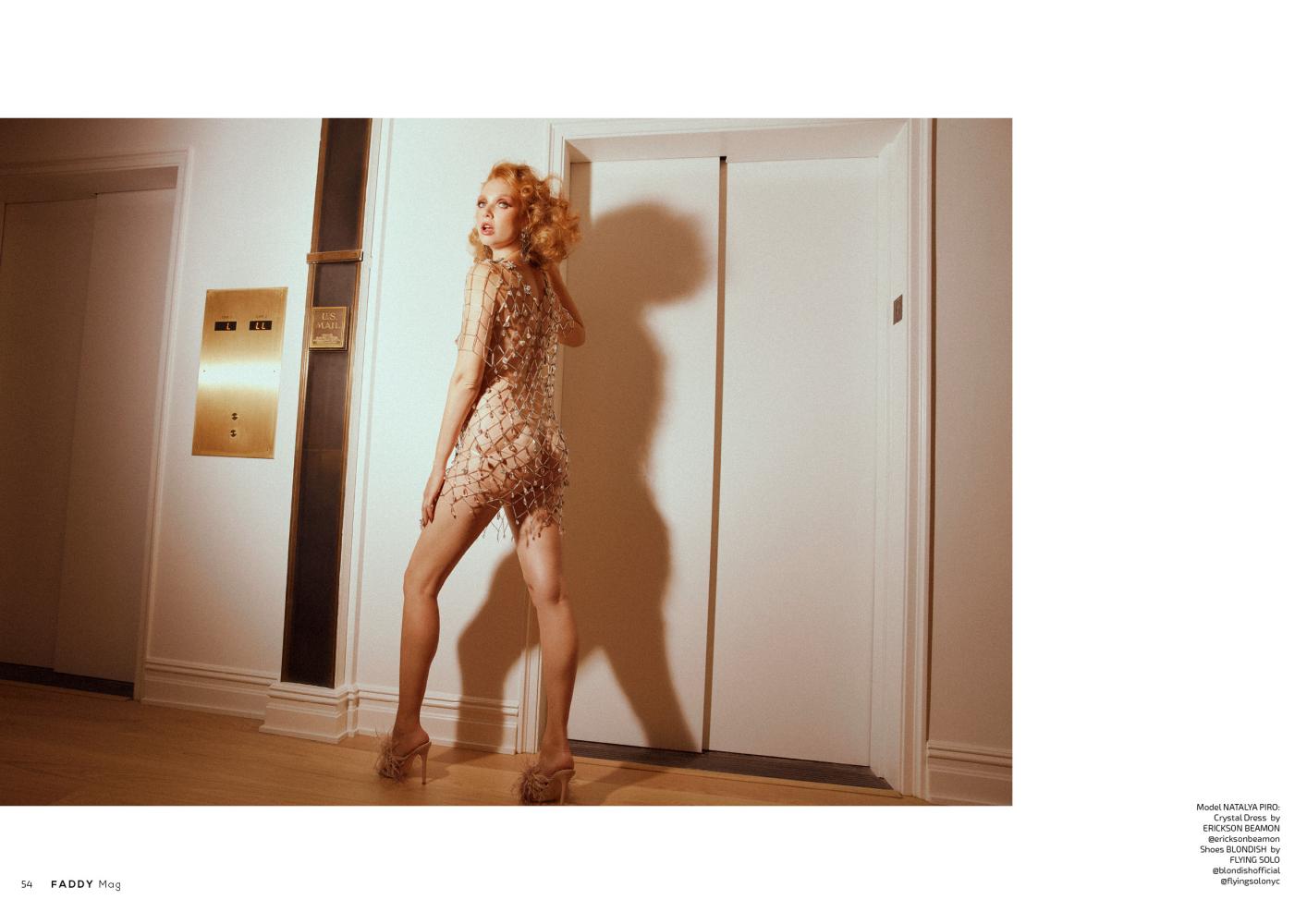Natalya Piro for FADDY Magazine