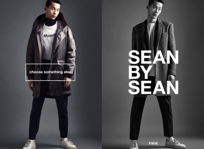 Wang Chenming for Sean By Sean FW2016