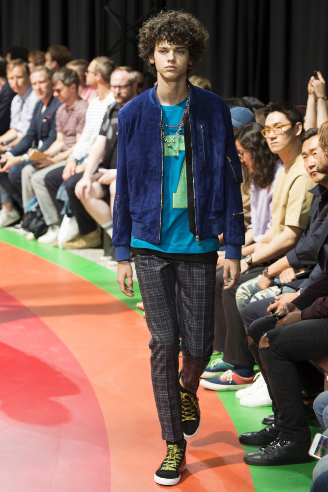 Andrei Dobrin for Paul Smith SS2017
