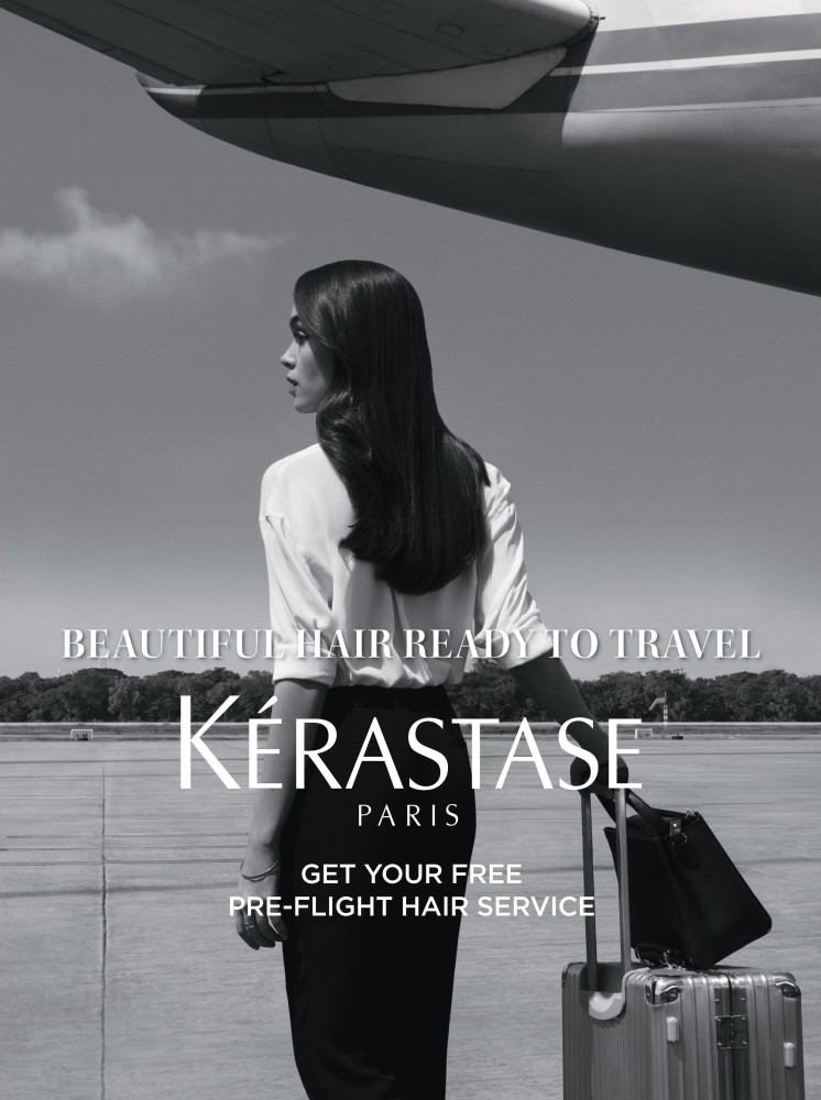 SOPHIE GORDON FOR KERASTASE CAMPAIGN