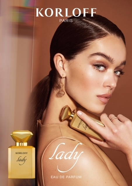 Sophie Gordon for Korloff Parfum