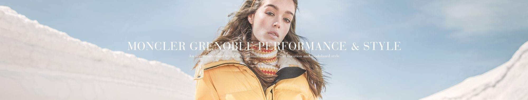 SOPHIE GORDON FOR MONCLER GRENOBLE FW17 CAMPAIGN