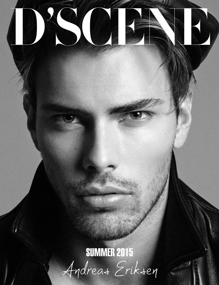 Andreas Eriksen Covering DScene Magazine SS15