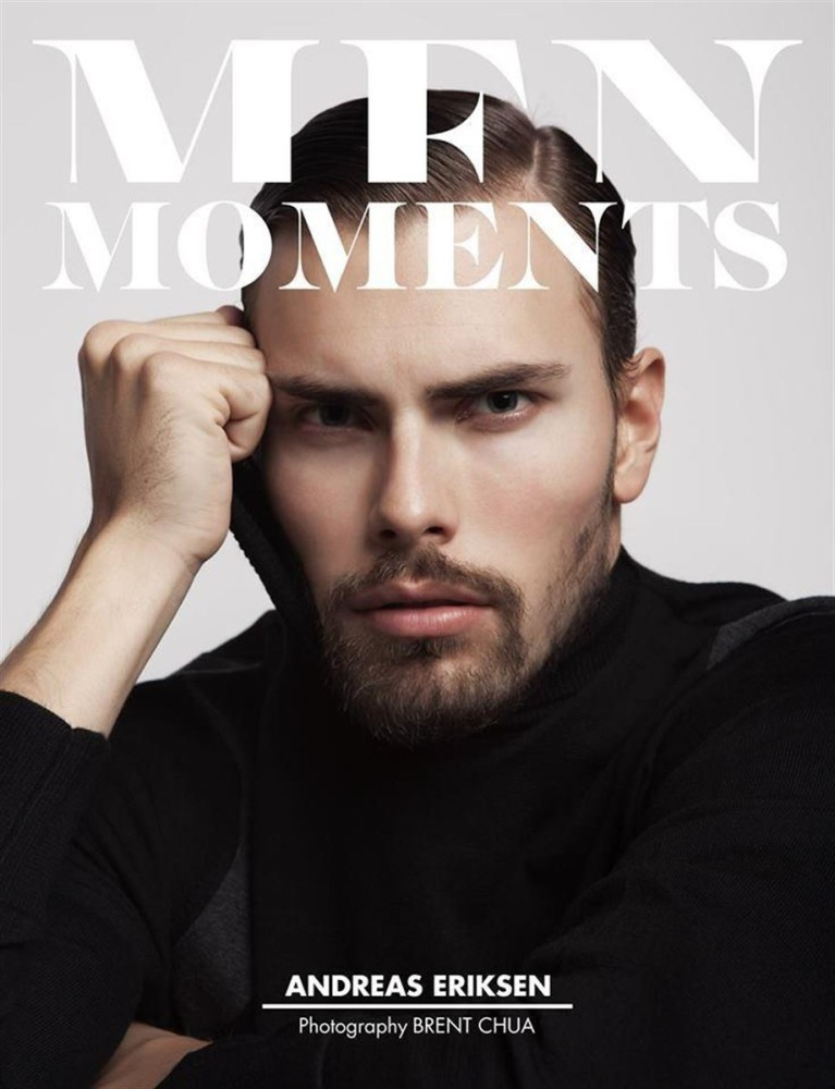 Andreas Eriksen covering Men Moments Magazine