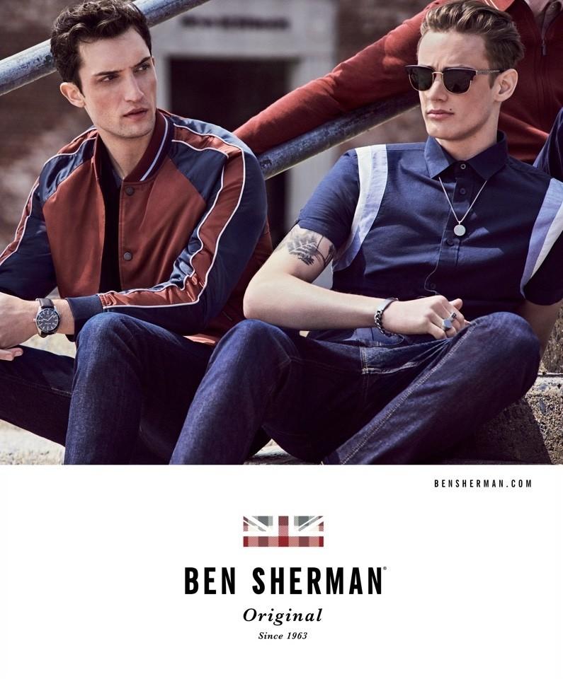 MAX VON ISSER for BEN SHERMAN FW17 Campaign