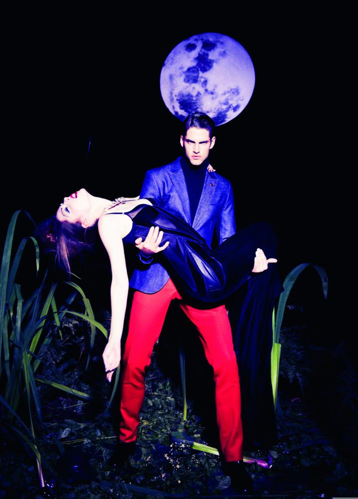 Jakub Zelman for VS Magazine by Ellen Von Unwerth
