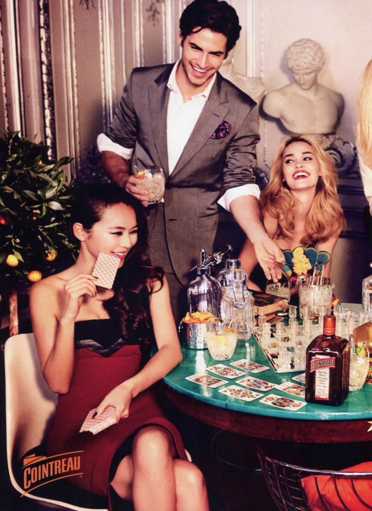 VIDEO / Jakub Zelman for Vogue US x Cointreau By Ellen Von Unwerth